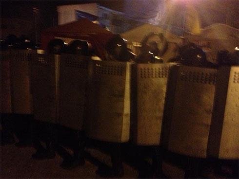 Міліція «зачистила» будівлю Сумської ОДА - фото