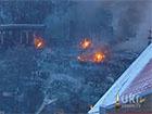 На Грушевського знову неспокійно – гранати, стрільба, кидання камінням та коктейлями молотова
