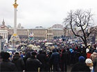 На київському Євромайдані знову відбувається Народне віче – перше в цьому році