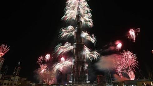 Новорічні феєрверки у Дубаї потрапили до Книги рекордів Гіннесса - фото