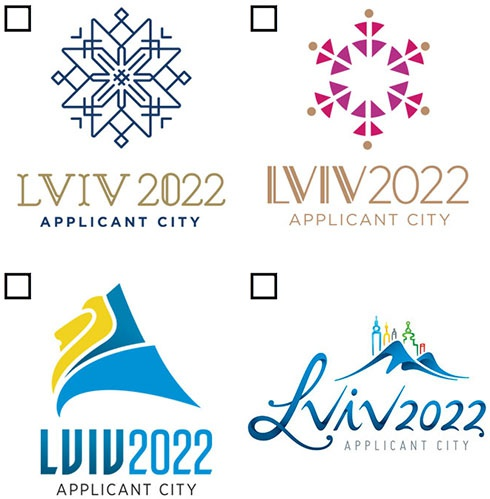 Розпочався вибір логотипу на зимову Олімпіаду-2022 - фото