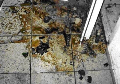У Бучі намагалися підпалити відділення міліції - фото