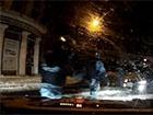 Як «Беркут» вночі трощить машини