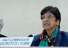 Закони, прийняті 16 січня, не відповідають міжнародним стандартам, їх застосування потрібно призупинити - Верховний комісар ООН з прав людини Наві Піллей - фото
