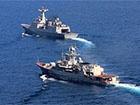 Фрегат «Гетьман Сагайдачний» провів тренування з корейським есмінцем «Чоу Юн»