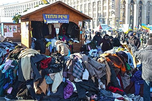Кияни «підігрівають» Майдан - фото