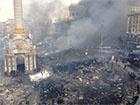 Міліція звинувачує «Правий сектор» у підпалі Будинку профспілок