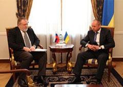 МЗС вручило ноту тимчасовому повіреному РФ в Україні Андрію Воробйову - фото
