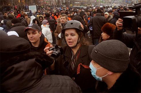 «Тітушки» приходили розбирати барикади Євромайдану, і знову безуспішно - фото