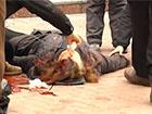 У Хмельницькому при штурмі СБУ стріляли в мітингувальників з бойової зброї