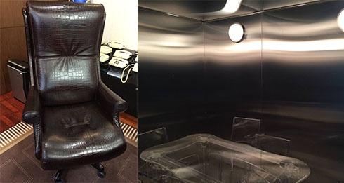 Крісло Клименка за 70 тис євро та Залізна кімната для переговорів в головному офісі Податкової - фото