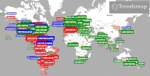 Україною в Twitter цікавилися більше ніж «Оскаром» - фото