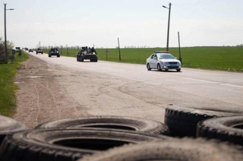 МВС: Біля Слов'янська ліквідовані три блокпости сепаратистів - фото