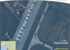 НАТО опублікувало супутникові знімки російських військ вздовж кордону з Україною - фото