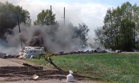 СБУ: у Слов'янську знищено три блокпоста та п'ятьох терористів - фото