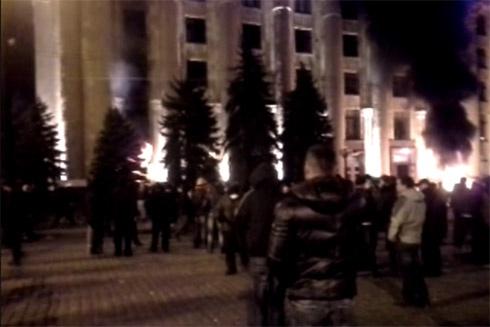 У Харкові зачистили будівлю ОДА, затримано 70 сепаратистів - фото