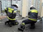У Києві на Бальзака обвалився балкон з 21 поверху
