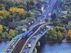 У Києві у неділю обмежать рух транспорту на Московському мосту та мосту Метро