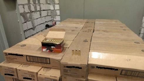 У Києві знайшли понад мільйон бойових набоїв - фото