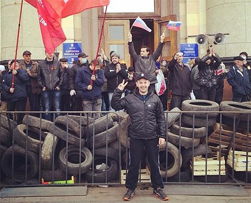 Заарештували організатора сепаратистських мітингів у Харкові Костянтина Долгова - фото