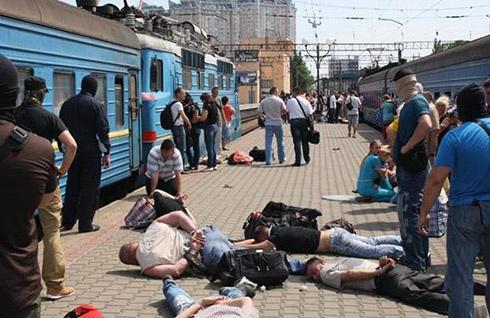 Майбутні диверсанти їхали на тренування до Москви (фото, відео) - фото