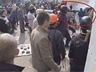 Сепаратисти в Одесі з-за спин міліціонерів стріляли з автомату