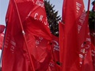 У Дніпропетровську розгромили будівлю обкому КПУ