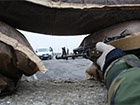 З Росії прорвалося кілька вантажівок