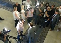 Ляшко вигнав з Верховної Ради російських тележурналістів - фото