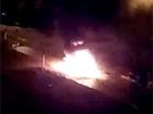 У Донецьку біля будівлі ОДА вибухнув мікроавтобус з терористами