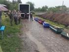 Вбитих терористів у Слов'янську поховали край дороги попід тином