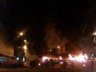 Вночі на Хрещатику горіла барикада