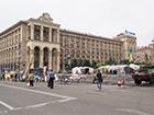 З Майдану прибрали сцену (фото)