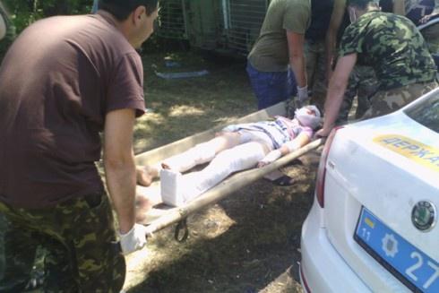 Біля Краматорська на міні підірвався автомобіль. Загинуло двоє, поранено 10-річну дівчинку - фото