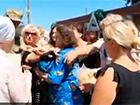 Бійка за хліб у Лисичанську - відео