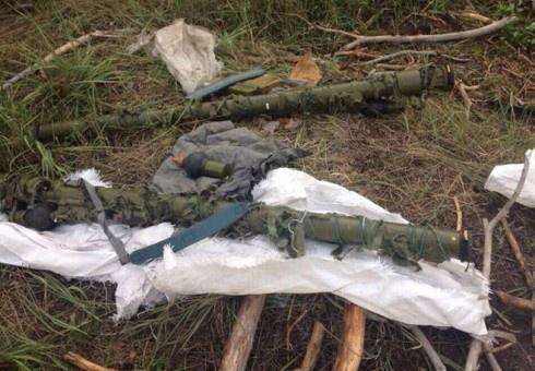 На Харківщині знайшли схованку з російськими ПЗРК - фото