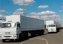 Російський «гуманітарний вантаж» з невідомим змістом незаконно в'їхав в Україну - фото