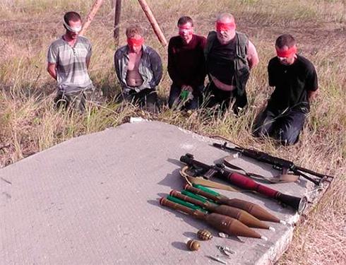 СБУ затримала 5 терористів «ЛНР» під час приготування до диверсії - фото