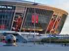 Стадіон Ахметова так і стоїть неушкоджений