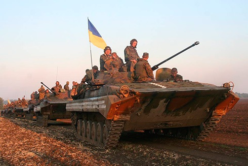 В зону АТО на поміч українським військам прямує підсилення - фото