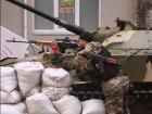 Росіяни нахабно вимагають у нацгвардійців залишити блокпост в районі Слав'яносербська