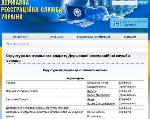 Сен генпрокурора очолив Департамент реєстрації нерухомості - фото