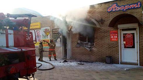 В Слов'янську стався вибух в ювелірному магазині, є постраждалі - фото
