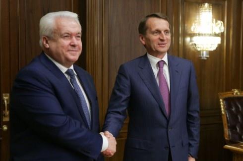 Володимир Олійник в Держдумі РФ пожалівся на «політичні реалії в Україні» - фото