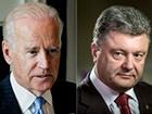 Порошенко та Байден висловили занепокоєння з приводу важкої військової техніки, що переміщується з боку Росії