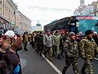 Київ зустрів своїх героїв з 12 батальйону [фоторепортаж]