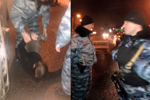 Екс-беркутівці побили журналіста - фото