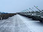 Під Житомиром армії передали більше 150 одиниць техніки та озброєння