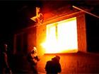 У Києві підпалили офіс КПУ [відео]