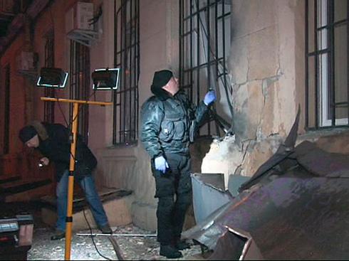 В Одесі все ж таки підірвали банк - фото